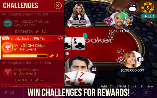 Zynga Poker u2013 Free Texas Holdem Online Card Games 22.02 screenshots 3