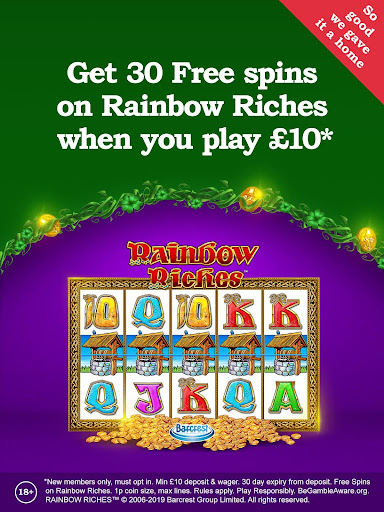 Rainbow Riches Casino: Slots, Roulette & Casino 11.37.0 1