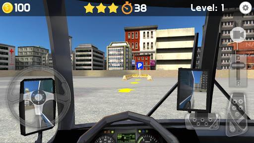 Bus Parking 3D 4.8 screenshots 2