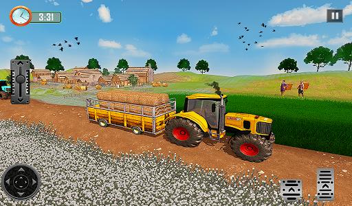 Farming Tractor Driver Simulator : Tractor Games 1.9.5 Screenshots 12