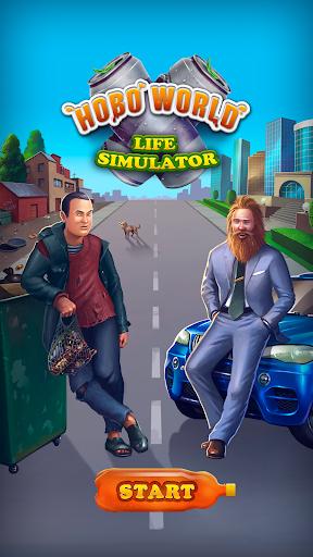 Hobo World - life simulator Apkfinish screenshots 1