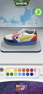 Sneaker Craft! MOD APK 1.0.7 (Unlocked Shoes/Stage) 2