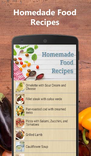Homemade food recipes for free  screenshots 2