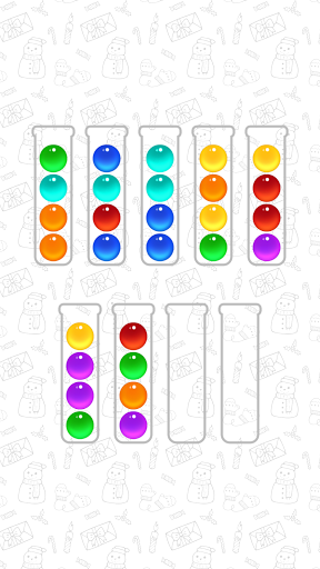 Ball Sort Color Water Puzzle 5.3.0 screenshots 1