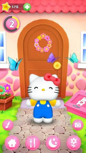 Talking Hello Kitty - Virtual pet game for kids  screenshots 1