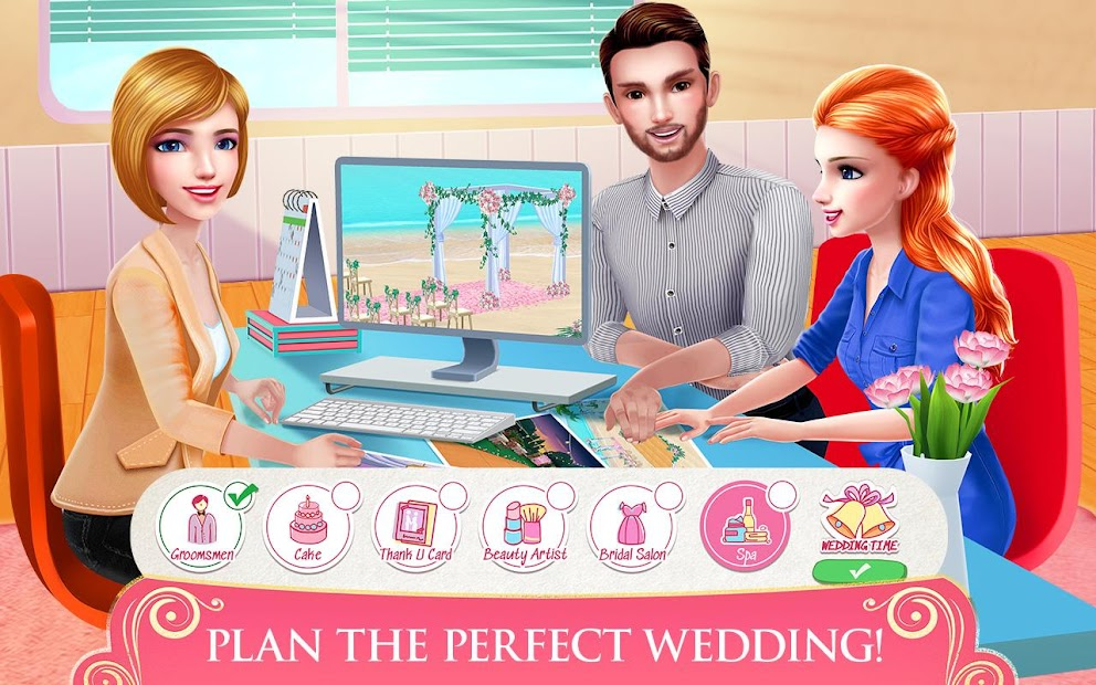 Dream Wedding Planner - Dress & Dance Like a Bride Android App Screenshot