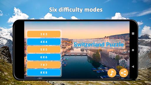 Switzerland Merge Puzzle  screenshots 1