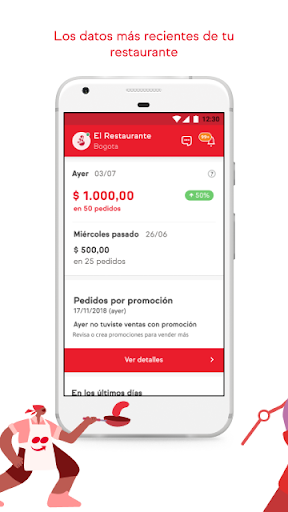 iFood para Restaurantes 3.10.0 Screenshots 1
