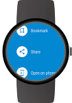 screenshot of Web Browser for Wear OS (Android Wear)