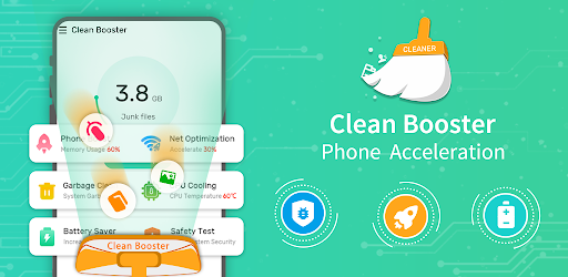 Clean Booster-Master of Cleaner, Phone Booster Versi 1.0.4