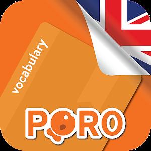 Learn English 6000 Essential Words 2.2.3 by PORO ENGLISH logo