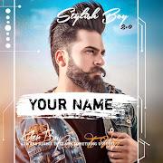 Stylish Boys Name DP Maker 2021