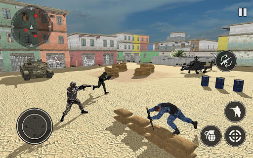 FPS Soldier Free Fire Shooting Game Screenshot 2