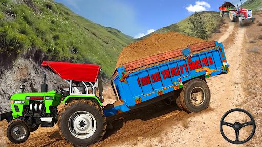 Real Tractor Trolley Cargo Farming Simulation Game screenshots 6