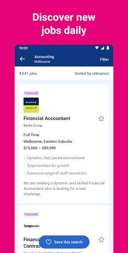 SEEK Job Search apktram screenshots 4