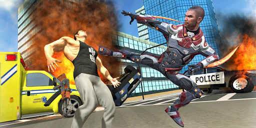 Super Hero Rope Crime City 1.09 screenshots 15