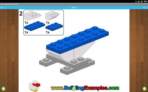 Mini figures with bricks  screenshots 7