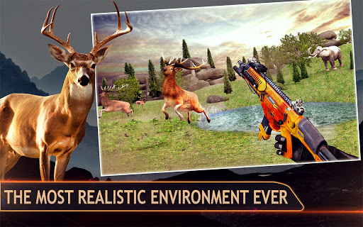 Wild Deer Hunting Games 3D Animal Shooting Games  screenshots 3