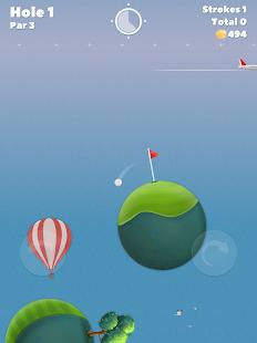 Schermata dei cieli del golf