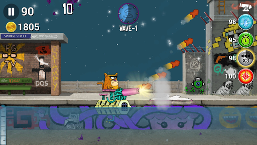spunge invaders screenshot 1
