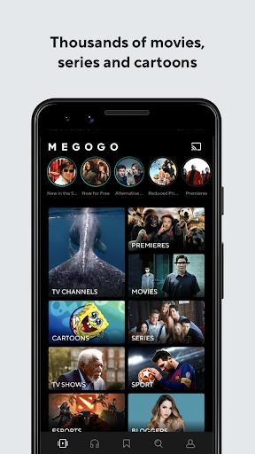 Foto do MEGOGO - TV, Movies, Audiobooks