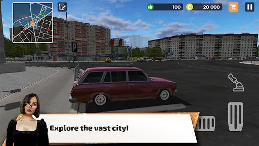 Big City Wheels - Courier Simulator  screenshots 1