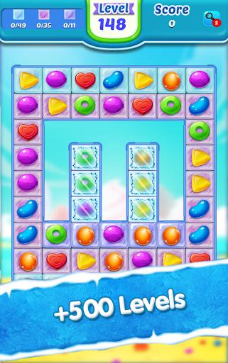 Code Triche Candy Ice Cream - Free Match 3 Game (Astuce) APK MOD screenshots 2