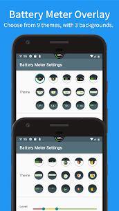 Battery Meter Overlay (PRO) 4.1.0 Apk 3