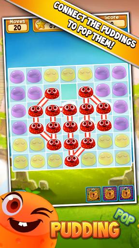 Pudding Pop - Connect & Splash Free Match 3 Game screenshots 7