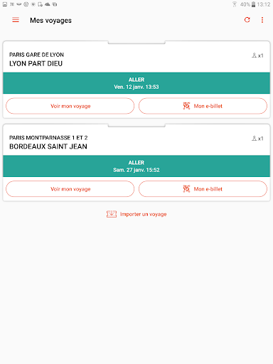 Oui.sncf : Cheap Train & Bus tickets for France 81.04 Screenshots 8