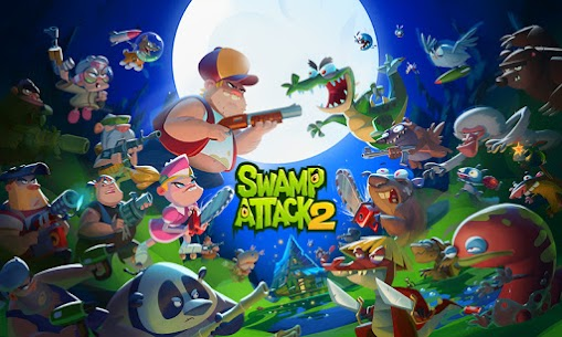 Swamp Attack 2 Mod Apk (Unlimited Money) 6