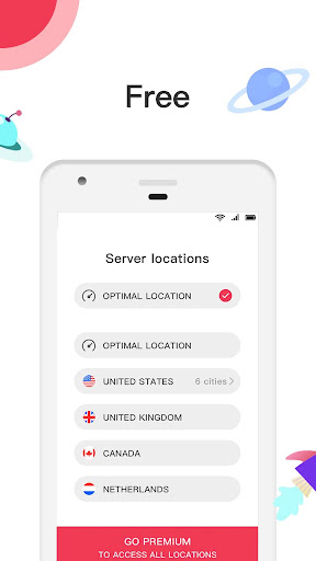 pupa vpn - free hotspot vpn& fast & security proxy screenshot 2