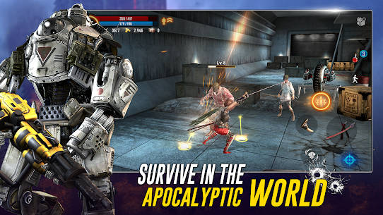 Cyber Prison 2077 MOD APK 1.3.8 (MOD MENU) Future Action Game against Virus 4