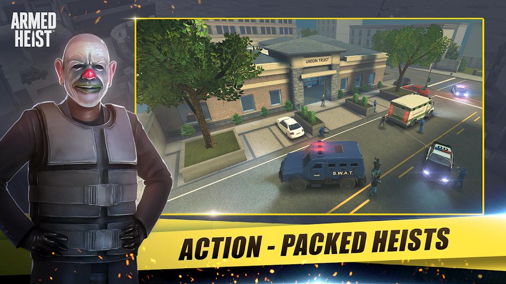 Armed Heist: TPS 3D Sniper shooting gun games  poster 0