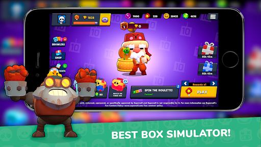 Code Triche Lemon Box Simulator for Brawl stars (Astuce) APK MOD screenshots 1