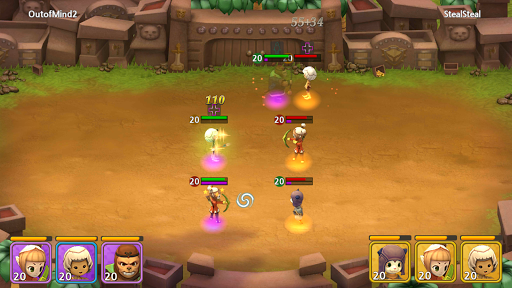 Forest Of Heroes : Clash Of Hero apktreat screenshots 2