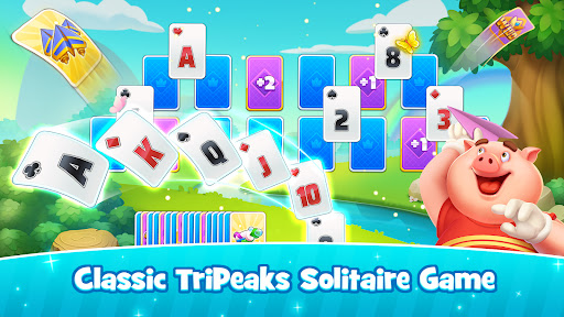 Solitaire TriPeaks Happy Land - Free Card Game  screenshots 7