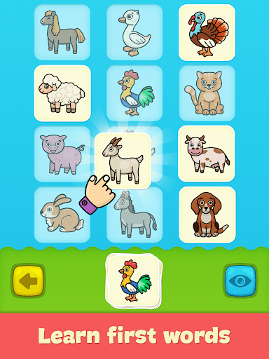 Baby flash cards for toddlers 1.10 Screenshots 1