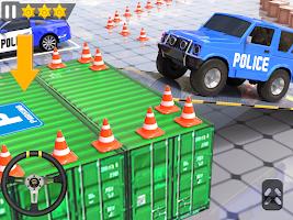 Police Car Parking 3D: Free Car Parking Games 2021