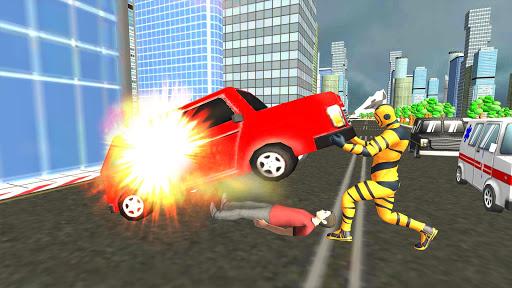 Flying Superhero Revenge: Grand City Captain Games screenshots 14