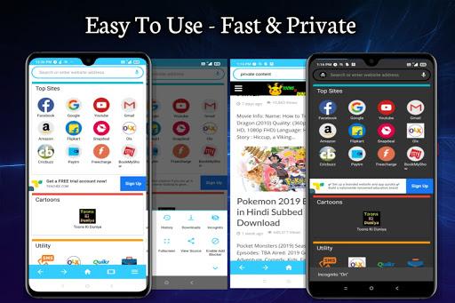 Web Browser Beta Pro-Fastest Browser  Screenshots 5