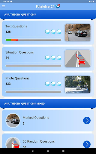 Driving school theory - Fahrlehrer24  screenshots 7