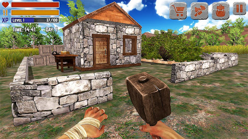 Island Is Home Survival Simulator Game 2.1 screenshots 1