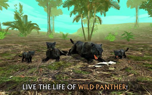 Télécharger Wild Panther Sim 3D APK MOD (Astuce) screenshots 1