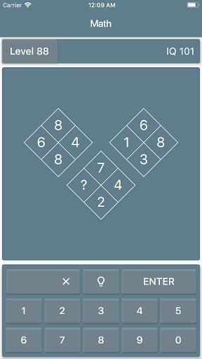 Math Riddles: IQ Test  screenshots 4