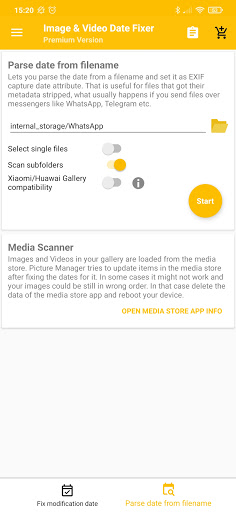 Image and Video Date Fixer screenshots 3