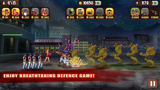 Baseball Vs Zombies Screenshot