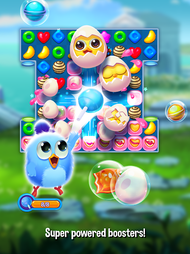 Bird Friends : Match 3 & Free Puzzle modavailable screenshots 16