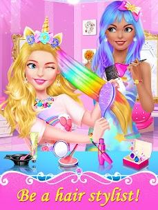 Girl Games: Hair Salon Makeup Dress Up Stylist 2