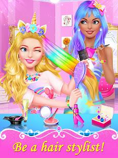 Girl Games: Hair Salon Makeup Dress Up Stylist 1.5 Screenshots 2